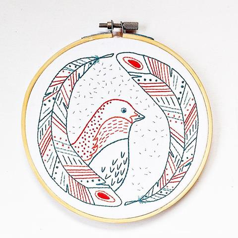 Birds of a Feather Embroidery Kit
