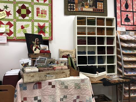 Wool at Cary Quilting