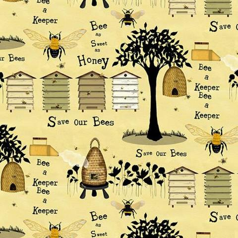 Bee a Keeper at Cary Quilting Company
