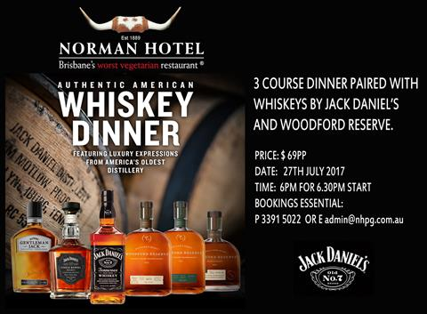 Whiskey Dinner