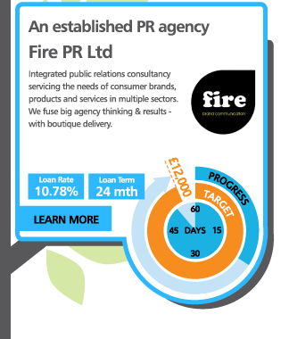 An established PR agency - Fire PR Ltd - Integrated public relations consultancy servicing the needs of consumer brands, products and services in multiple sectors. We fuse big agency thinking & results - with boutique delivery.