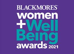 Blackmores Women + Wellbeing Awards 2021 logo