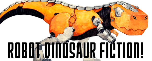 Robot Dinosaur Fiction Logo