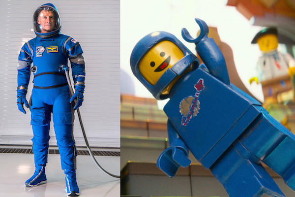 NASA'S NEW SPACESUIT LOOKS LIKE IT'S FROM THE LEGO MOVIE (AND IT'S AWESOME)