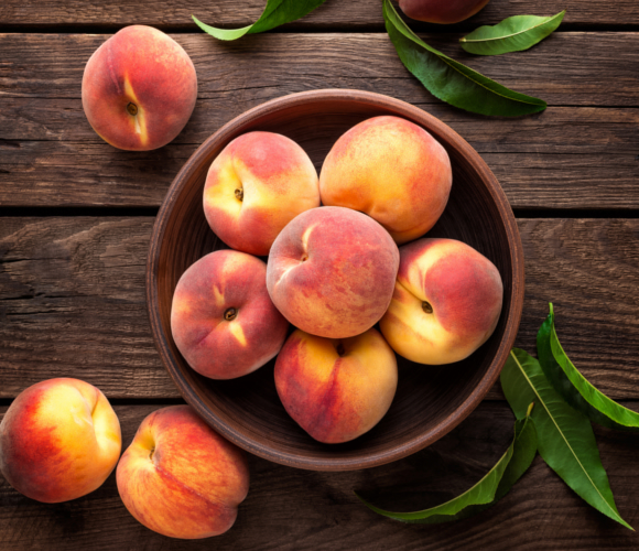 Recipe of the Month - Peach & Almond Tarts