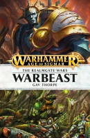 Cover of Warbeast by Gav Thorpe, published by Black Library