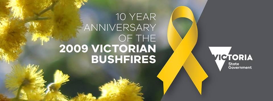 Bushfire anniversary