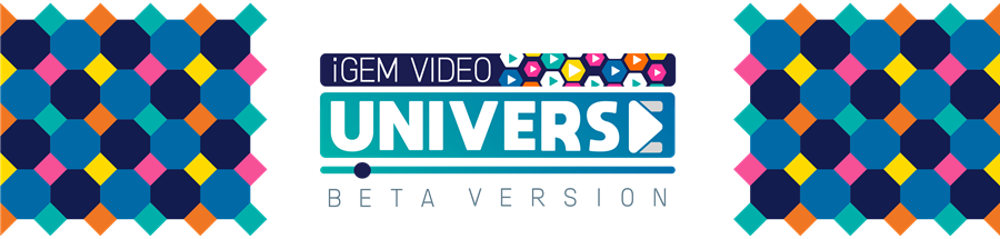 img: iGEM Video Universe beta banner