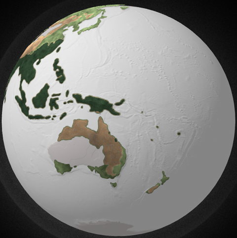 Our Planet: Explorable globe