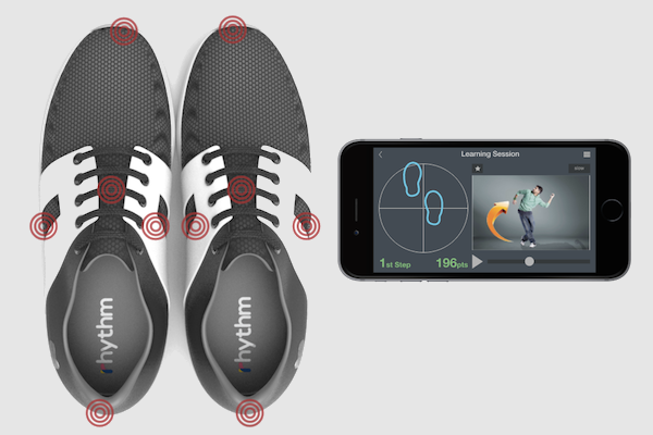 THESE APP-CONNECTED VIBRATING DANCE SHOES ACTUALLY TEACH YOU TO DANCE