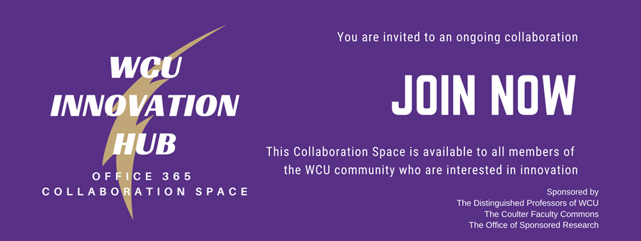 Join the WCU Innovation Hub