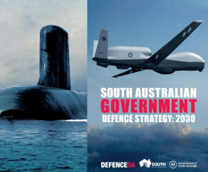 The strategy was developed by Defence SA, the Defence SA Advisory Board, with input from local industry and academia. Credit: SA Govt