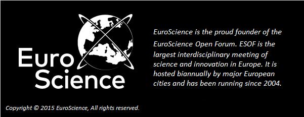 EuroScience logo and description