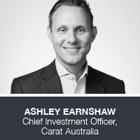 Ashley Earnshaw, Chief Investment Officer, Carat Australia