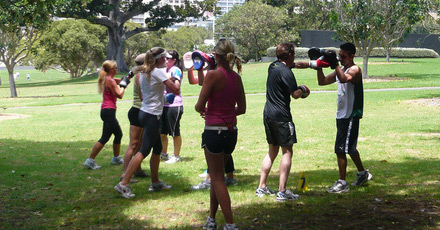 Fun outdoor classes – free!