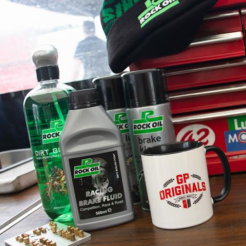GP Originals early entry reward with Rock Oil at Cadwell Park