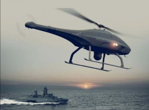 The Skeldar V-200B completed its trials earlier this year. SUAS News via Twitter