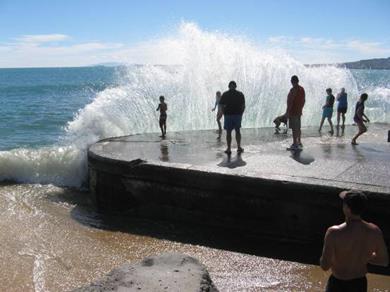Milford beach - North Shore