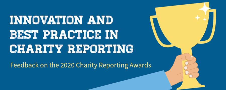 Innovation and best practice in charity reporting