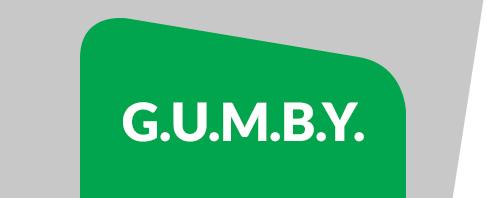 g.u.m.b.y.
