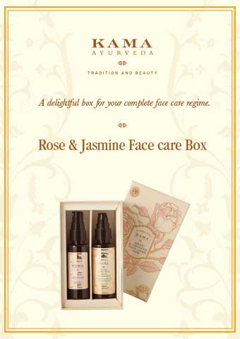 Rose Jasmine Face Care Gift Box