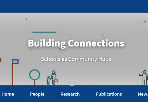 Screenshot of Building Connections website