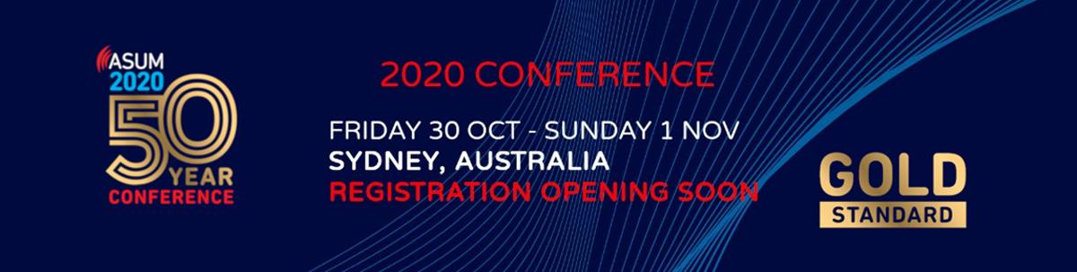 Registrations opening soon | ASUM2020