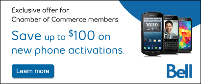 Chamber members save up to $100 on new phone activations with Bell
