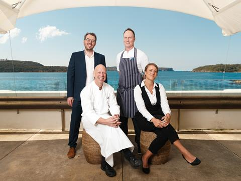 The new team at Bather's Pavilion Sydney