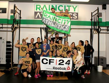 CrossFit24 at RainCity Athletics Vancouver 2015