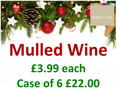 Bury Lane Farm Shop Mulled Wine Offer Winter 2018