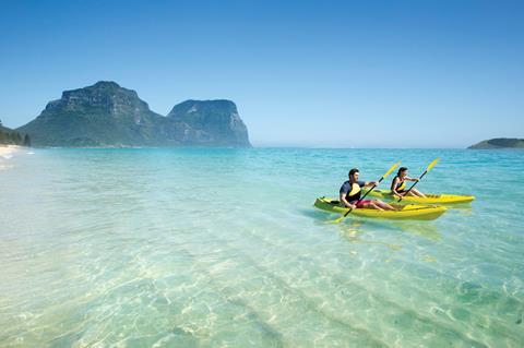 Lord Howe Island water sports