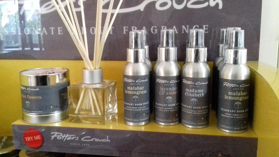 Arrington Garden Centre & Cafe Potters Crouch Candles & Diffusers October 2018
