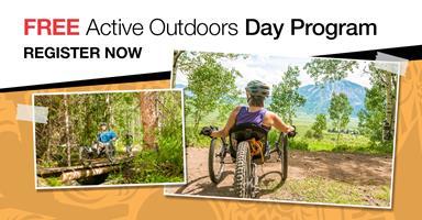 People on handcycles in outdoor terrain