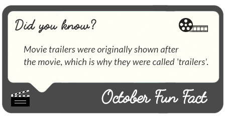 October 2017 fun facts