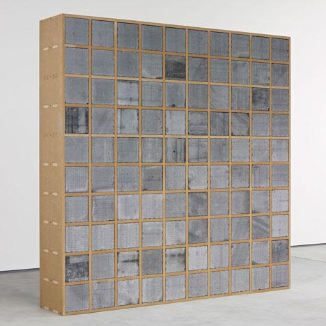 Sarah Lucas uses concrete breeze blocks to create first furniture range