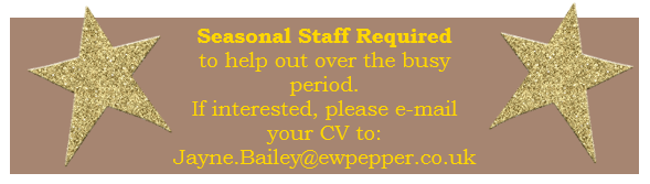Bury Lane Farm Shop Seasonal Staff Required