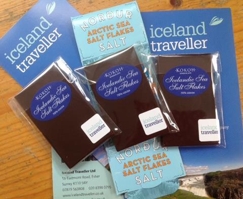 Icelandic sea salt chocolate