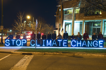 Stop climate change. The Paris Agreement has set the direction for the way ahead, and the world's policies, technology and finance must now follow. Image: Joe Brusky