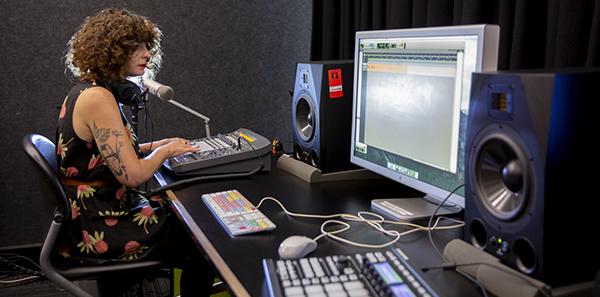 Using the Recording Studio at The Edge