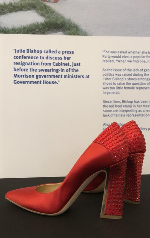 Julie Bishop's Red Shoes