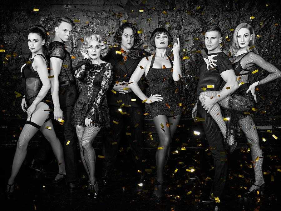 The cast of Chicago the Musical