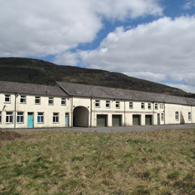 Photo of barracks / Cooke & Arkwright