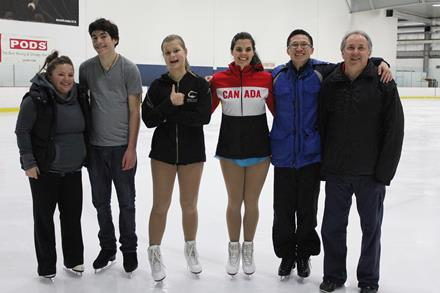 SOBC skaters and coaches going to the 2015 Canada Games