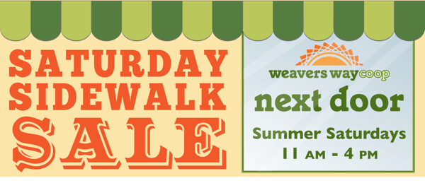 Next Door Saturday Sidewalk Sale