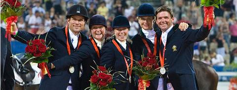 2008 Beijing Eventing Team receives EA Hall of Fame recognition