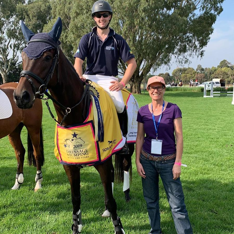 2019 Horseforce Young Eventing Horse Champions 4 & 5 YO Tattersalls ridden by Christopher Height  📷 Ute Raabe