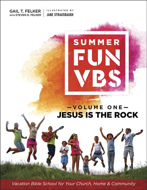 Summer Fun VBS Volume 1: Jesus Is the Rock, eBook Instant PDF Download