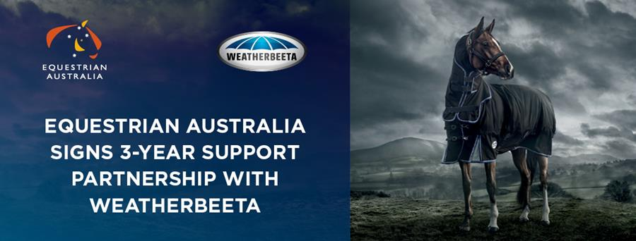 Equestrian Australia Signs Three-Year Partnership with WeatherBeeta