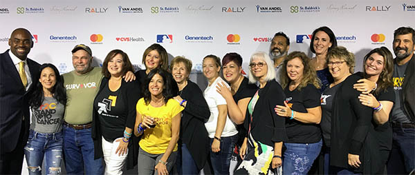LUNGevity's HOPE Summit alumni at SU2C telecase